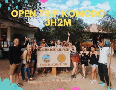 Open Trip Komodo 3D2N setiap Jum'at s/d Minggu