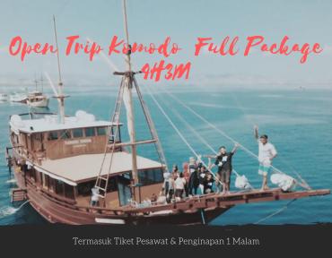open trip komodo labuan bajo full package 4h3m – start jakarta