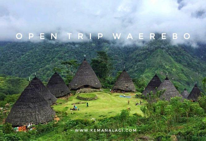 open trip wae rebo 0002