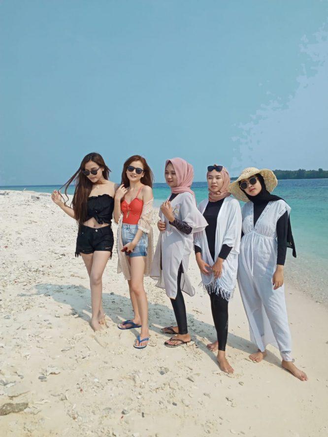 open trip pulau payung kepulauan seribu 021